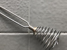 Metal Wire French Spring Coil Whisk Kitchen Utensil Mixer-Egg Beater - $8.29