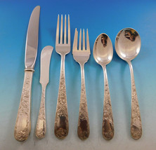Old Maryland Engraved by Kirk Sterling Silver Flatware Set 8 Service 50 pieces - $2,995.00