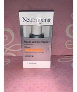 Neutrogena Rapid Wrinkle Repair Face & Neck Moisturizer 1 Oz SPF 30 EXP ... - $15.98