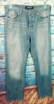 London Jeans womens premium quality denim size 6 button fly straight leg - $17.51