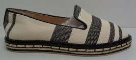 Vince Camuto Size 6 M JADINA Natural Black Espadrille Loafers New Womens Shoes - $107.91