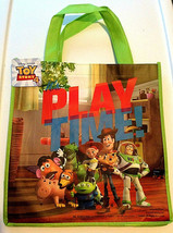 """Disney Toy Story 4 Woody Buzz Rex Reusable Tote Gift Bag 14""""x 13"""" It's P... - $4.45"""