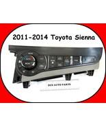 2011-2014 Toyota Sienna Ac Heater Climate Control Dash Switch Fan - $74.20