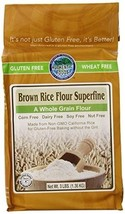 Authentic Foods Gluten Free Brown Rice Flour Superfine -- 3 lbs - $14.74
