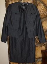 Ellen Tracy Black Dress Jacket Set Size 6 - $28.50