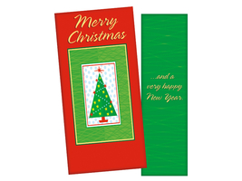Christmas Tree ~ Christmas Holiday Gift Card or Money Holder - $5.00