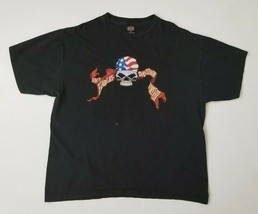 Harley-Davidson Mens 2XL T-Shirt Kailua-Kona Hawaii Pirate Black Graphic... - $17.99
