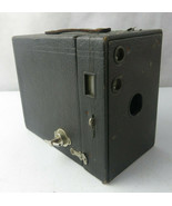 VINTAGE 1920 EASTMAN KODAK N 2A BROWNIE CAMERA BOX Model B Made In USA - $25.00