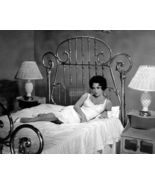 """ELIZABETH TAYLOR IN """"CAT ON A HOT TIN ROOF"""" - 8X10 PUBLICITY PHOTO burl... - $16.00"""