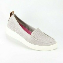 Ryka Womens Veronica Slip On Shoes Silver Fabric Size 5 G2656M225 New Authentic - $45.21