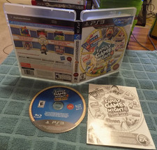 Family Game Night 4: The Game Show CIB great shape PS3 Playstation 3 - $17.95