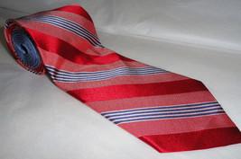 Tommy Hilfiger: Stripes 100% Silk NeckTie Lot#TYHR01 - $20.00
