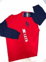 Polo Ralph Lauren RED Boys Large Logo Polo Tee, US 2T - $14.84