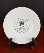 """Vintage Royal Doulton Pottery 150th Anniversary 1965 Plate England 6"""" co... - $17.78"""