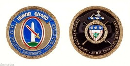 "ARMY HONOR GUARD 3RD INFANTRY THE OLD GUARD 1.75"" CHALLENGE COIN - $18.99"