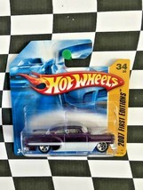 Hot Wheels 2007 New Models First Edition 034 Custom '53 Chevy Purple Sho... - $7.91