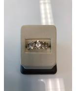 5 Stone Morganite and Diamond 14kt Rose Gold Ring - $395.00