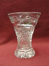 """GALWAY Crystal - LEAH Pattern - 4"""" Flower BUD VASE - $26.95"""