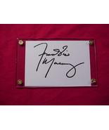 FREDDIE MERCURY  Autographed Signed Signature Cut w/COA - 30693 - $75.00