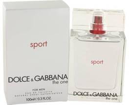 Dolce & Gabbana The One Sport Cologne 3.3 Oz Eau De Toilette Spray  image 6