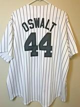 ROY OSWALT Men's XXL Houston Astros Majestic Throwback Home Baseball Jer... - $178.19