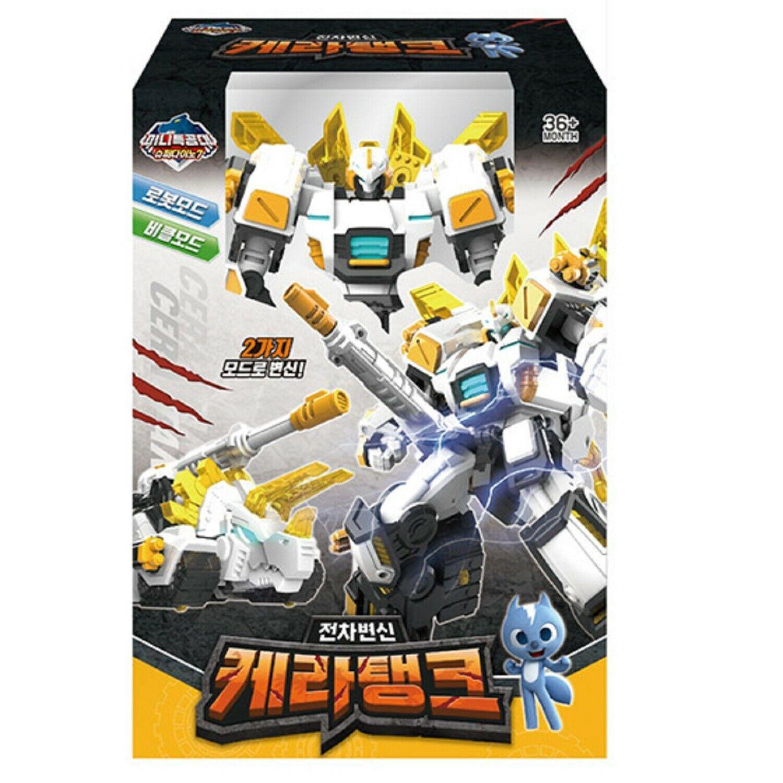 Miniforce Cera Tank Action Figure Super Dino Series Transforming Robot Toy