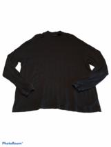 J Ferrar Brand Men's Large Long Sleeve Black Thermal T Shirt Comfy Super... - $9.45