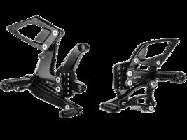 Bonamici Aluminum Adjustable 2018 + Kawasaki Ninja 400 Rearsets Rear Sets - $449.99