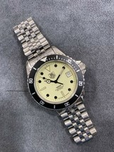 Vintage TAG HEUER Professional 980.113 Full Lume Dial Submariner Diver Watch - $774.99