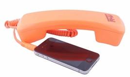 Fi-Hi Orange VoIP Internet Phone with Jack & Adapter