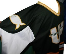 Any Name Number New England Whalers Wha Retro Hockey Jersey Dark Green Any Size image 4