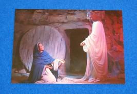 FASCINATING VINTAGE GATLINBURG JESUS EMPTY TOMB POSTCARD TOKEN CHRISTUS ... - $3.99