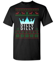 Dilly Dilly True Friend Of The Crown Merry Christmas T-Shirt - $8.90+