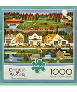 Buffalo Charles Wysocki puzzle Yankee Wink Hollow 1000 piece - $5.00
