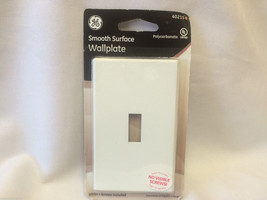 Smooth Surface Wall plate White GE 40215 Wall plate Coverings - $4.99