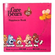 Vintage 1983 The Care Bears Story Book Read Along w/ Vinyl Record RARE *... - $19.79