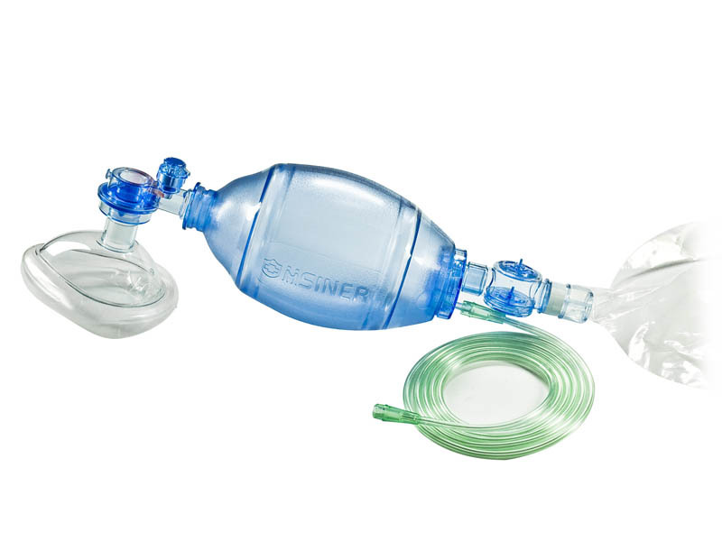 Pvc adult  resuscitator 60101 b