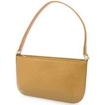 LOUIS VUITTON Fowler Monogram Mat Umbre M55147 Shoulder Bag France Authe... - $420.75