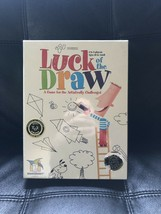 New Sealed!! LUCK OF THE DRAW Game Gamewright 2006 Family Drawing 4-8 Pl... - $42.31