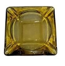 Vintage Anchor Hocking Square Glass Ashtray Vintage Glass Ashtray - $14.99