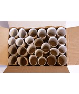 100 toilet roll tubes, toilet paper empty tubes in box, cardboard tube DIY  - $18.78