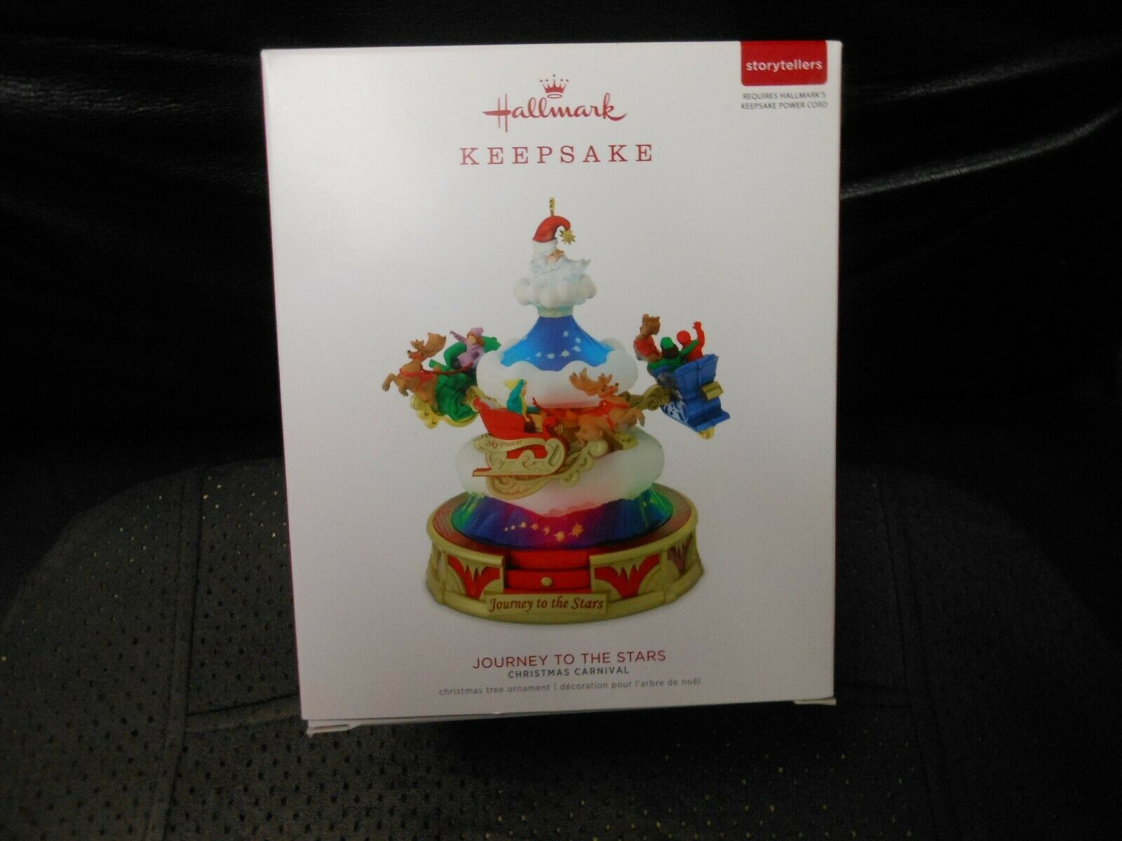 "Hallmark Keepsake ""Journey To The Stars"" 2018 Light, Sound,Motion Ornament NEW"