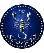 Scorpio Astrological Sign  October 23 to Nov 21 Circular Sign - $25.15