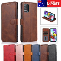 Samsung GalaxyJ3 4 5 6 J7 8 A6 7 A9 2018Luxury Leather Wallet Card Case ... - $63.79
