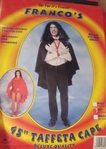 Costumes black Taffeta Cape, 45'' new lot 105 by franco - $17.57