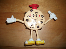 ONE SMART COOKIE 1988 Applause Chocolate Chip Graduation Bendable Figure - $8.99