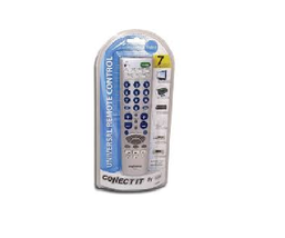 Connect It RM700 7-Function Universal Remote for TV DVD/CD VCR Receiver AUX - $14.99