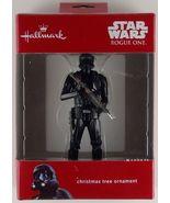 Hallmark Star Wars Rogue One Death Stormtrooper Christmas Tree Ornament ... - $19.99