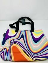 Starbucks Summer 2021 Iridescent Rainbow Canvas Tote - $44.55
