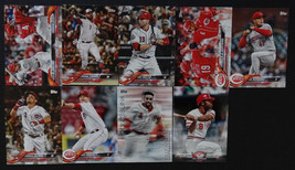2018 Topps Update Cincinnati Reds Master Team Set 9 Baseball Cards Missi... - $6.00